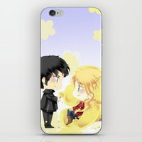 ouat iPhone & iPod Skins featuring OUAT - Buttercup Princess by Yorlenisama