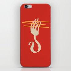 Fork & Pasta iPhone & iPod Skin