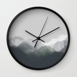 Rustic tranquility #1 Wall Clock