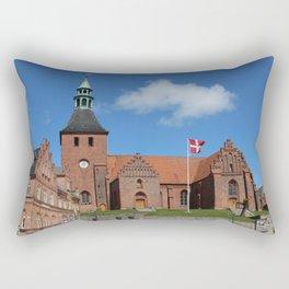 Vor Frue Kirke, Svendborg, Denmark Rectangular Pillow