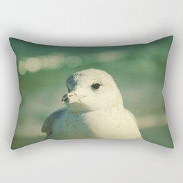 Seagull Close Up Rectangular Pillow