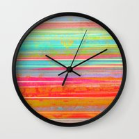 hawaii Wall Clocks featuring Hawaii by Fernando Vieira