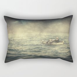 Old man and the sea Rectangular Pillow