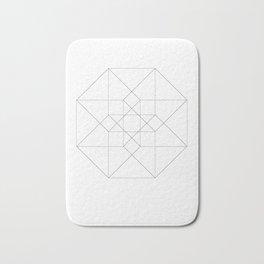 Tesseract Bath Mat