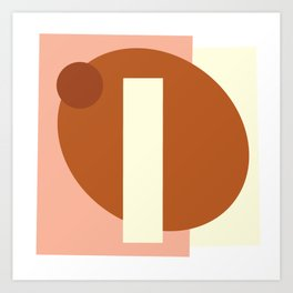 Abstract Fall Art Print