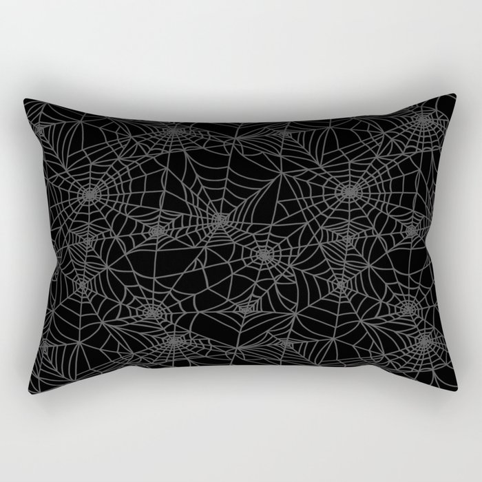Dead of Night Cobwebs Rectangular Pillow