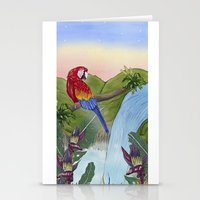 brasil Stationery Cards featuring Brasil by Thyra
