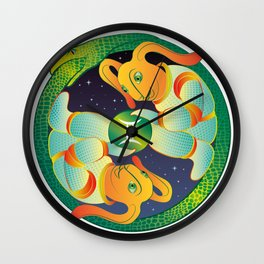 Gemini Zodiacal Sign Wall Clock