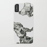 jurassic park iPhone & iPod Cases featuring jurassic by BzPortraits
