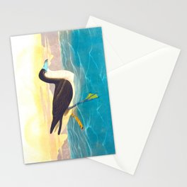 Dusky Petrel Bird Stationery Cards