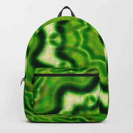 WOOD Element kaleido pattern Backpack