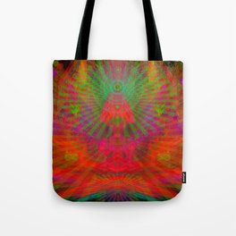 Love Radiation Meditation Tote Bag