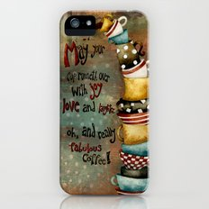 May Your Cup Runneth Over iPhone (5, 5s) Slim Case