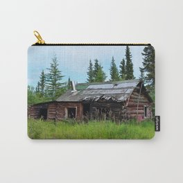 Alaskan Frontier Cabin Carry-All Pouch