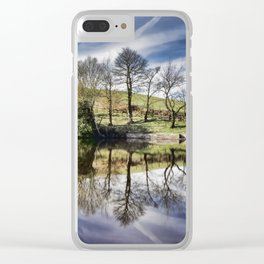 Healey Dell Pool Clear iPhone Case