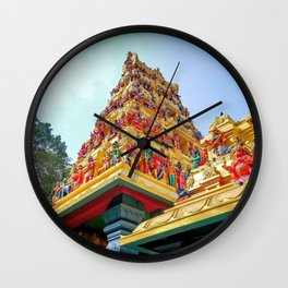 Lord Ganesh Temple Ganesh Kovil Katharagama Sri Lanka Sella Kataragama Ultra HD Wall Clock