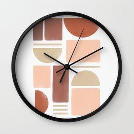 Cyclades Elements #2 Wall Clock