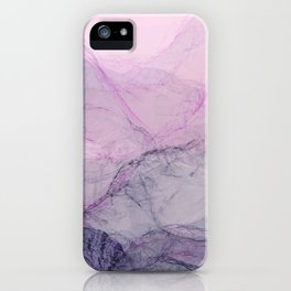 Marble Abstract Landscape iPhone Case