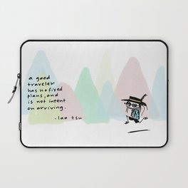 a good traveler Laptop Sleeve