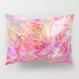 Serenity Abstract Painting Pillow Sham