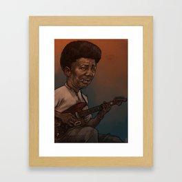 Muddy Waters Framed Art Print