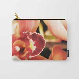Flaming Orchid Carry-All Pouch
