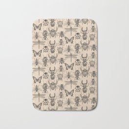 Bugs and insects Bath Mat