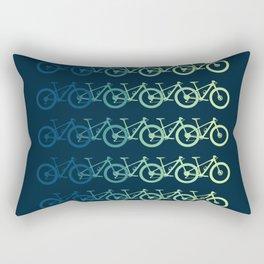 MTB Mountain Bike Cycling Downhill Rectangular Pillow