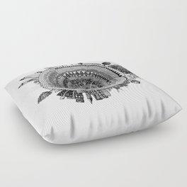 Swirl Floor Pillow