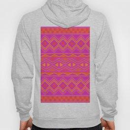 Tribal Pattern (Pink & Orange) Hoody