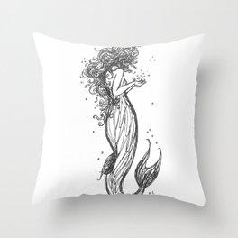 Deep Waters Throw Pillow