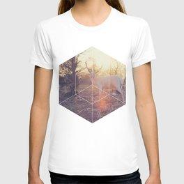 Magical Deer - Geometric Photography T-shirt