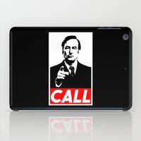 better call saul iPad Cases featuring CALL by Marco Mottura - Mdk7