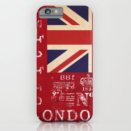 Union Jack Great Britain Flag iPhone Case