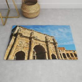 Rome - The Arch of Constantine Rug