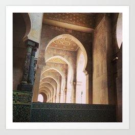 Corridors Art Print