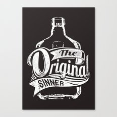 The original sinner Canvas Print