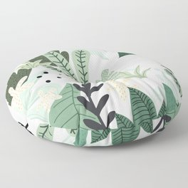 Into the jungle II Floor Pillow