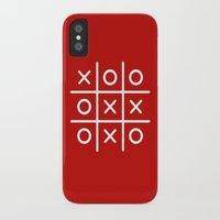 game iPhone & iPod Cases featuring Game by iophiel