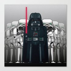 Darth Vader and Stormtroopers Canvas Print