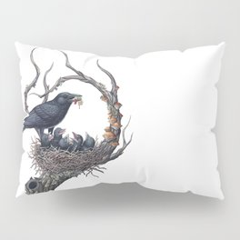 American Crow Pillow Sham