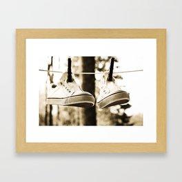 drying Framed Art Print