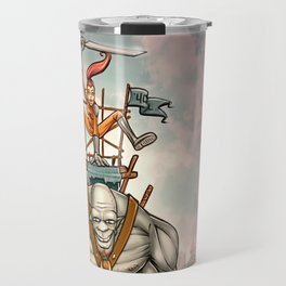 Mounted Giant Travel Mug