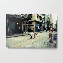 Dancers in Sheung Wan Metal Print