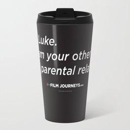 Film Journeys Misquotes: No Luke. I Am Your Other Parental Relative Travel Mug