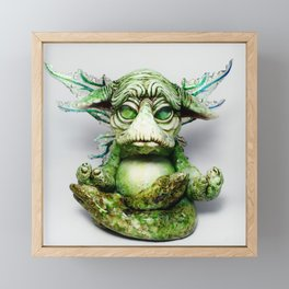 Ebert the goblin Framed Mini Art Print