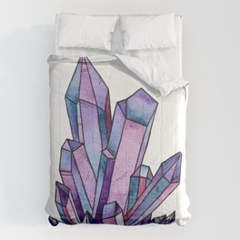 Purple Crystal Comforters