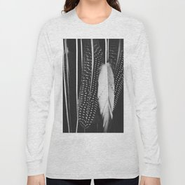 Boho Feathers Long Sleeve T-shirt