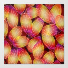 Fire Fairy Wings Canvas Print