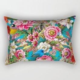 The Russian Birdforest Rectangular Pillow